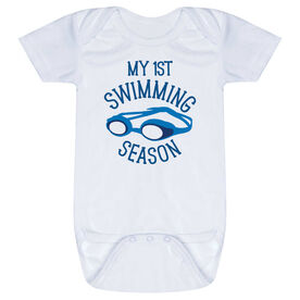 Swimming Baby One-Piece - My First Swimming Season
