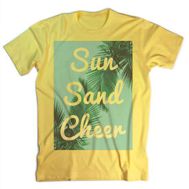 Vintage Cheerleading T-Shirt - Sun Sand Cheer