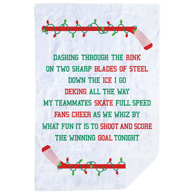 Hockey Premium Blanket - Jingle All The Way