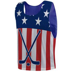 Hockey Pinnie - USA Hockey