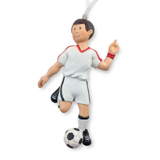 CTS - Soccer Player Resin Figure Ornament (Male)