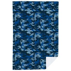 Guys Lacrosse Premium Blanket - Player Camouflage