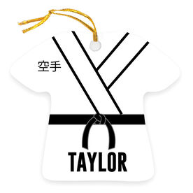 Personalized Ornament - Karate Gi Outfit