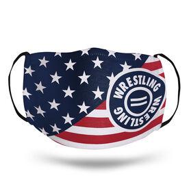 Wrestling Face Mask - USA Flag
