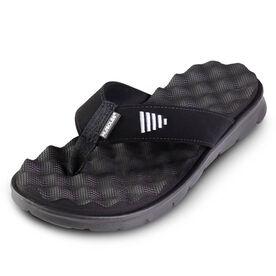 PR SOLES® Recovery Flip Flops (Black)
