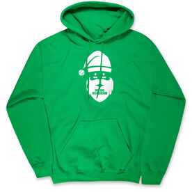 Baseball Hooded Sweatshirt - Ho Ho Homerun