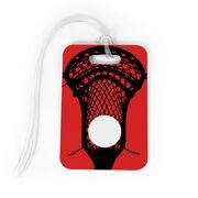 Guys Lacrosse Bag/Luggage Tag - Large Lacrosse Stick
