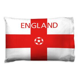 Soccer Pillowcase - England