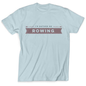 Vintage Crew T-Shirt - I'd Rather Be Rowing