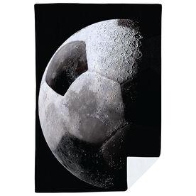Soccer Premium Blanket - Up In the Sky