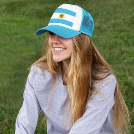Soccer Trucker Hat - Argentina