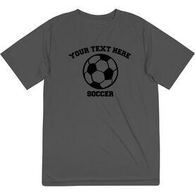 Soccer Short Sleeve Performance Tee - Custom Soccer