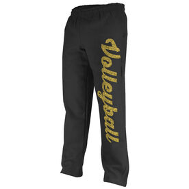 Volleyball Fleece Sweatpants Volleyball Script