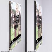 "Field Hockey 18"" X 12"" Aluminum Room Sign - Classic Vertical Photo"