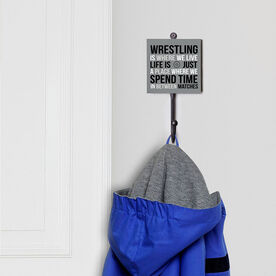 Wrestling Medal Hook - Wrestling Is Where We Live