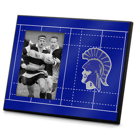 Rugby Photo Frame Rugby Field Logo