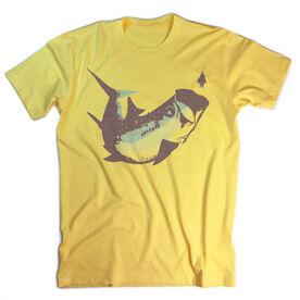 Vintage Fly Fishing T-Shirt - Wild Tarpon