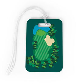 Golf Bag/Luggage Tag - Golf Course