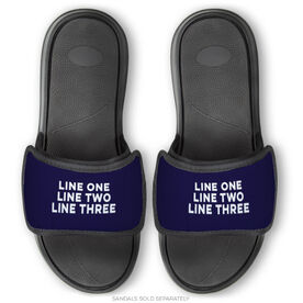 General Sports Repwell® Sandal Straps - Your Text