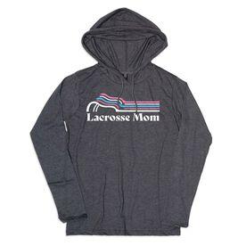 Women's Lacrosse Lightweight Hoodie - Lacrosse Mom Sticks