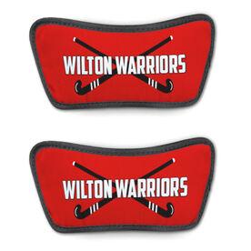 Field Hockey Repwell™ Sandal Straps - Personalized Crossed Sticks