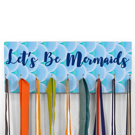 Swimming Hooked on Medals Hanger - Let's Be Mermaids