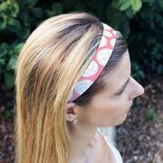 Volleyball Juliband No-Slip Headband - Tossed Ball Pattern