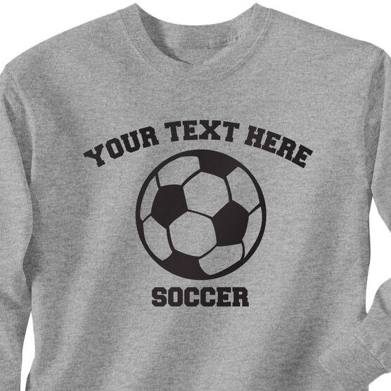 812b18ac1 Custom Soccer T-Shirt Long Sleeve