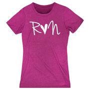 Women's Everyday Runners Tee - Run Heart