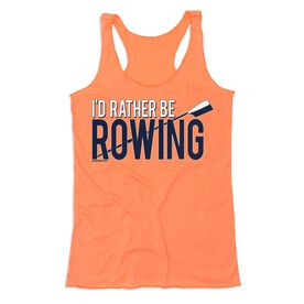 Crew Women's Everyday Tank Top - I'd Rather Be Rowing