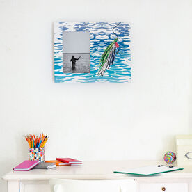 Fly Fishing Photo Frame - Watercolor Deceiver