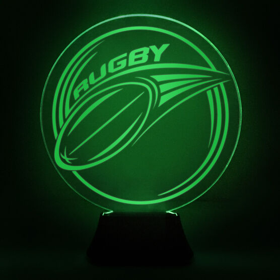Rugby Acrylic LED Lamp Pass