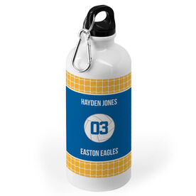 Volleyball 20 oz. Stainless Steel Water Bottle - Team With Ball
