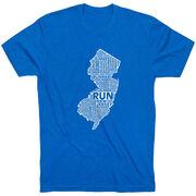 Running Short Sleeve T-Shirt - New Jersey State Runner