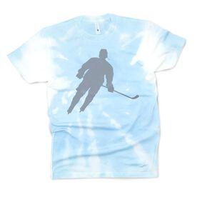 Hockey Short Sleeve T-Shirt - Player Tie-Dye
