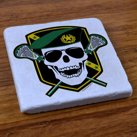 Death Match Lacrosse - Stone Coaster