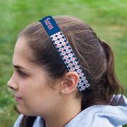 Soccer Juliband No-Slip Headband - Personalized Soccer Ball Pattern