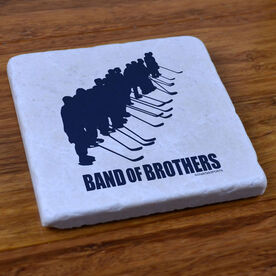 Band Of Brothers Hockey - Stone Coaster