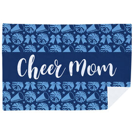 Cheerleading Premium Blanket - Mom Stripe