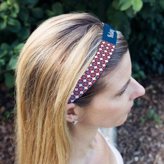 Basketball Julibands No-Slip Headbands - Personalized Basketball Pattern