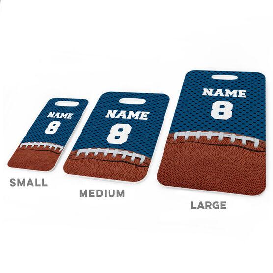 Football Bag/Luggage Tag - Personalized Football Image