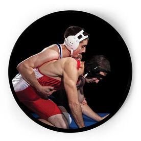 Wrestling Circle Plaque - Custom Photo