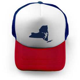 Guys Lacrosse Trucker Hat NY Lax Guys