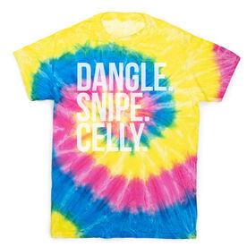 Hockey Short Sleeve T-Shirt - Dangle Snipe Celly Tie Dye