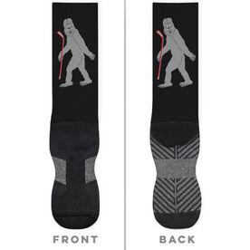 Hockey Printed Mid-Calf Socks - Yeti