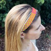 Tennis Juliband No-Slip Headband - Personalized Tennis Ball Pattern