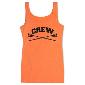 Crew Women's Athletic Tank Top Crossed Oars