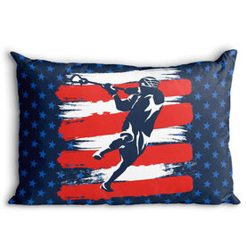 Guys Lacrosse Pillowcase - USA Laxer