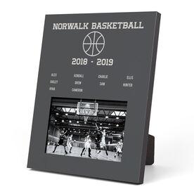Basketball Photo Frame - Team Roster