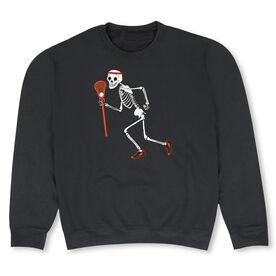 Guys Lacrosse Crew Neck Sweatshirt - Never Stop Laxing